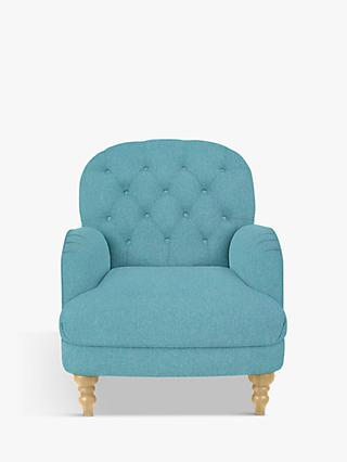 John Lewis & Partners Annie Armchair, Light Leg, Bruno Teal