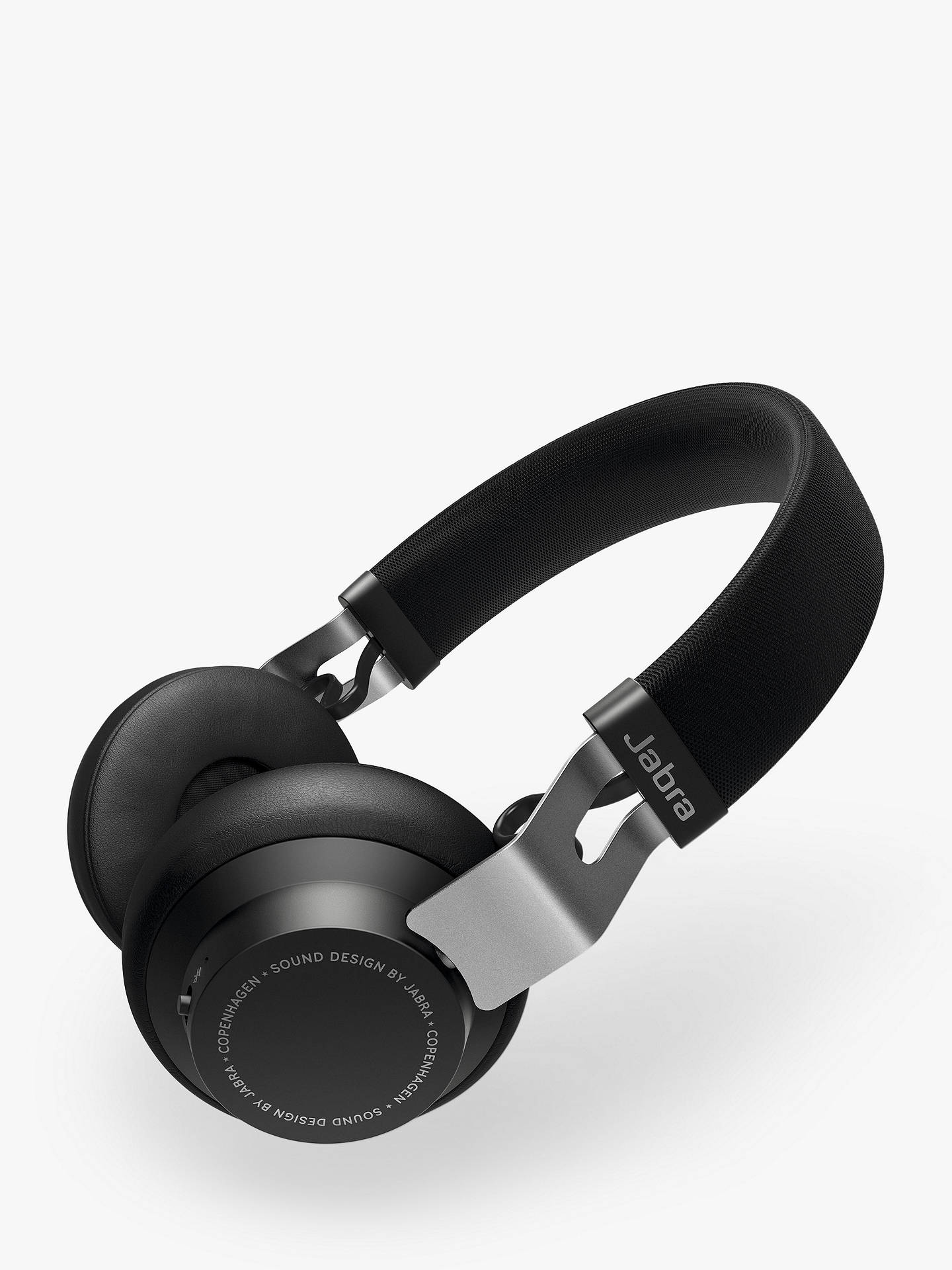 Buy Jabra Move Style Edition Wireless Bluetooth On-Ear Headphones with Mic/Remote, Titanium Black Online at johnlewis.com