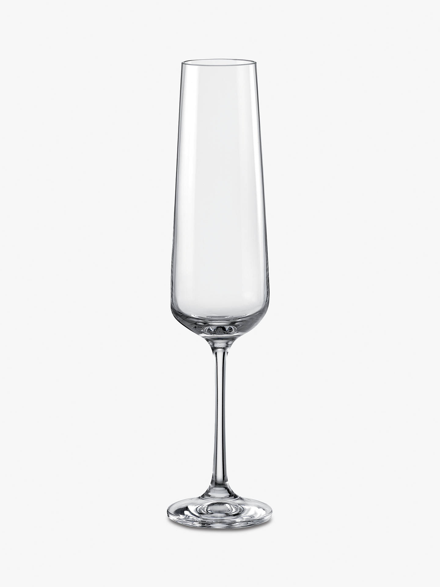 Dartington Crystal Simplicity Champagne Flutes 200ml Set Of 6 Clear At John Lewis Partners