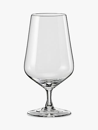 Dartington Crystal Simplicity Beer Glasses, 380ml, Set of 6, Clear