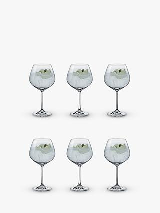 Dartington Crystal Simplicity Copa Gin Glasses, 570ml, Set of 6, Clear