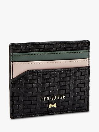 66e5cee168ab Ted Baker Mabes Raffia Card Holder