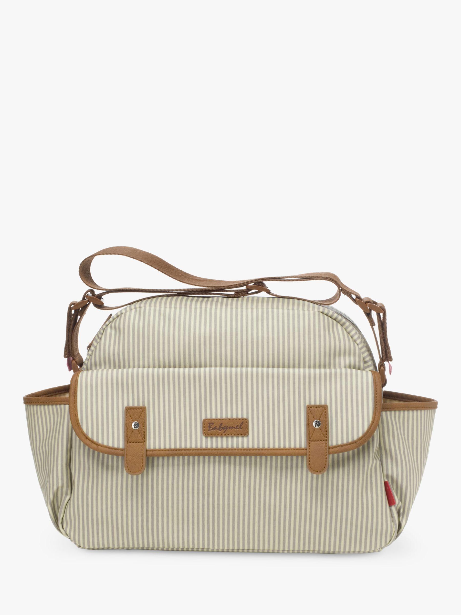 Babymel Babymel Molly Changing Bag, Grey Stripe