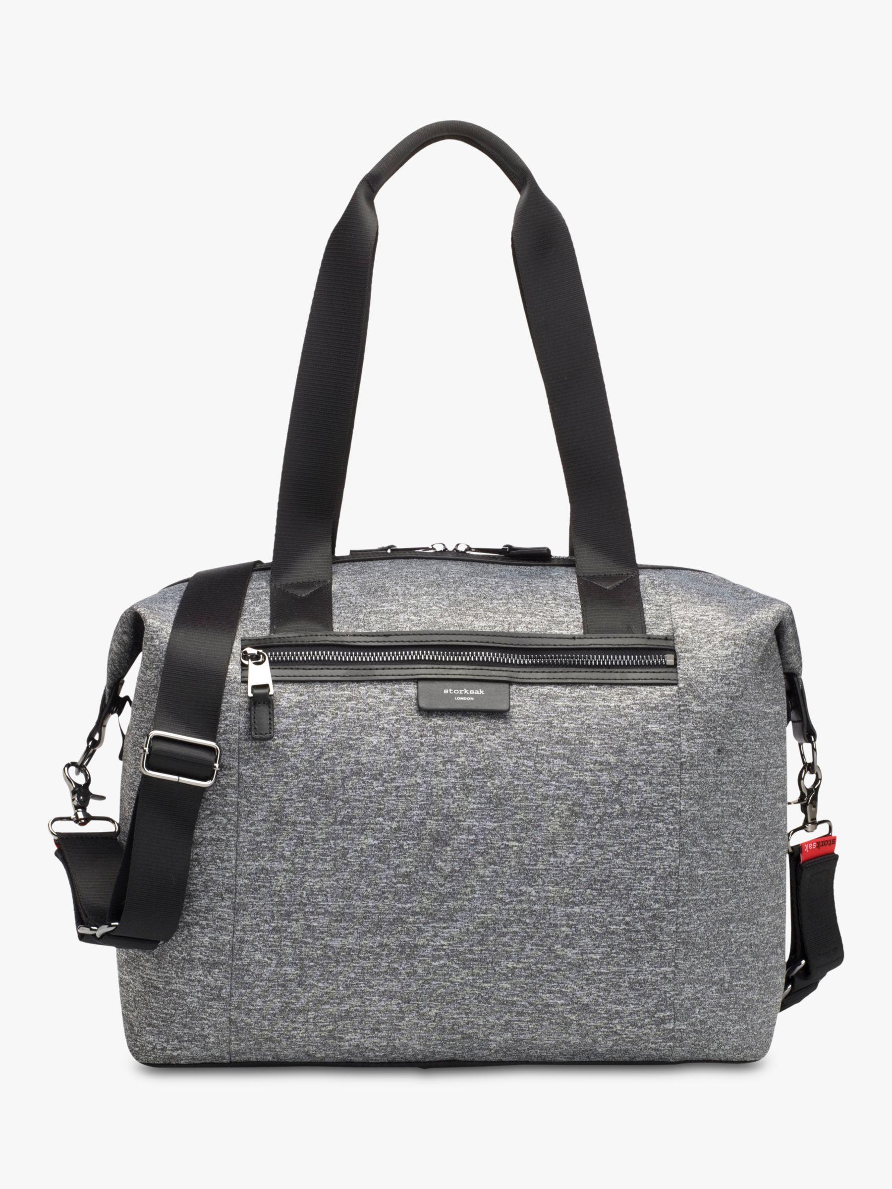 Storksak Storksak Stevie Luxe Changing Bag, Grey Marl Scuba