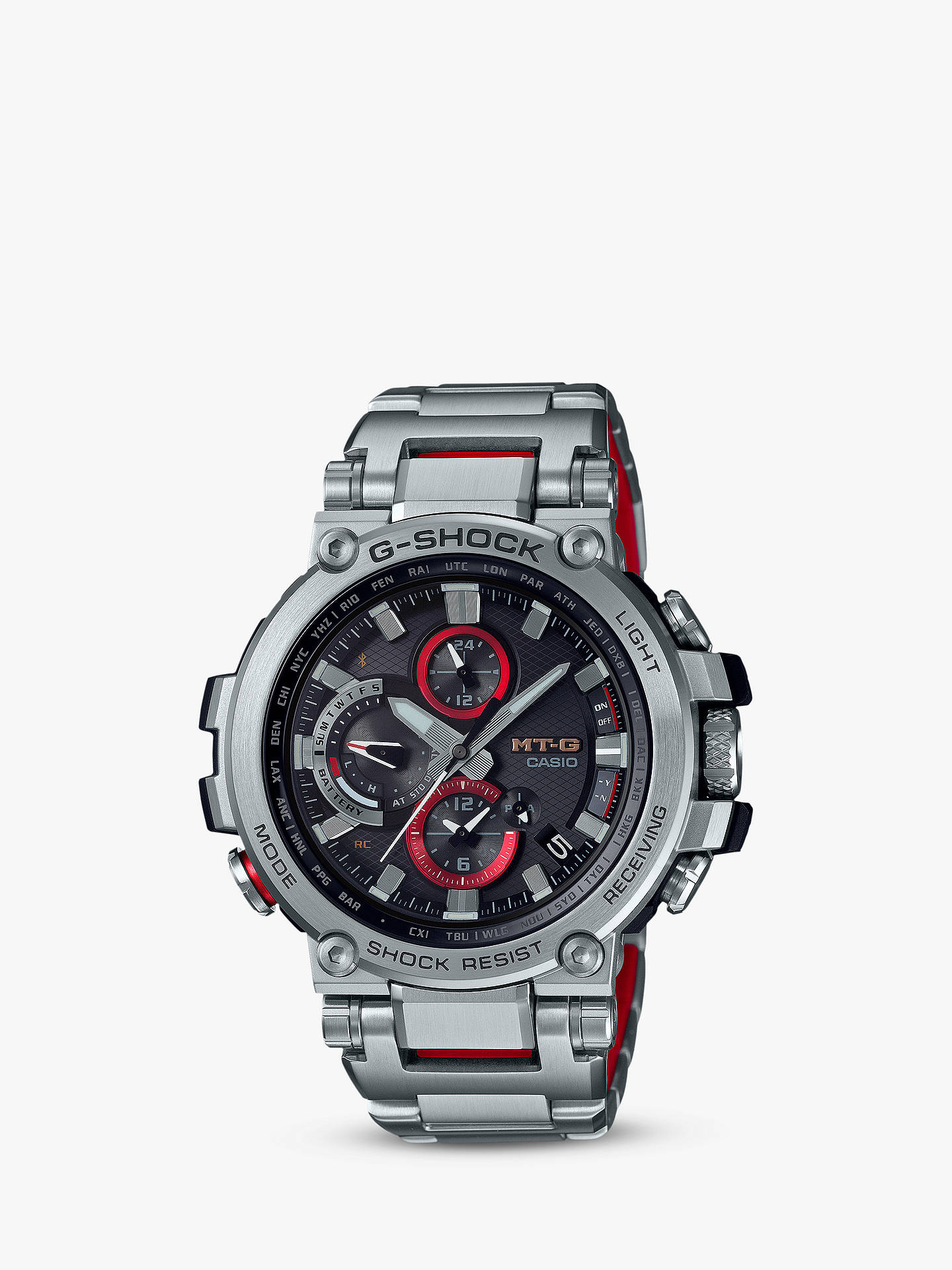 Casio Mtg B1000d 1aer Men S G Shock Connected Chronograph Bracelet
