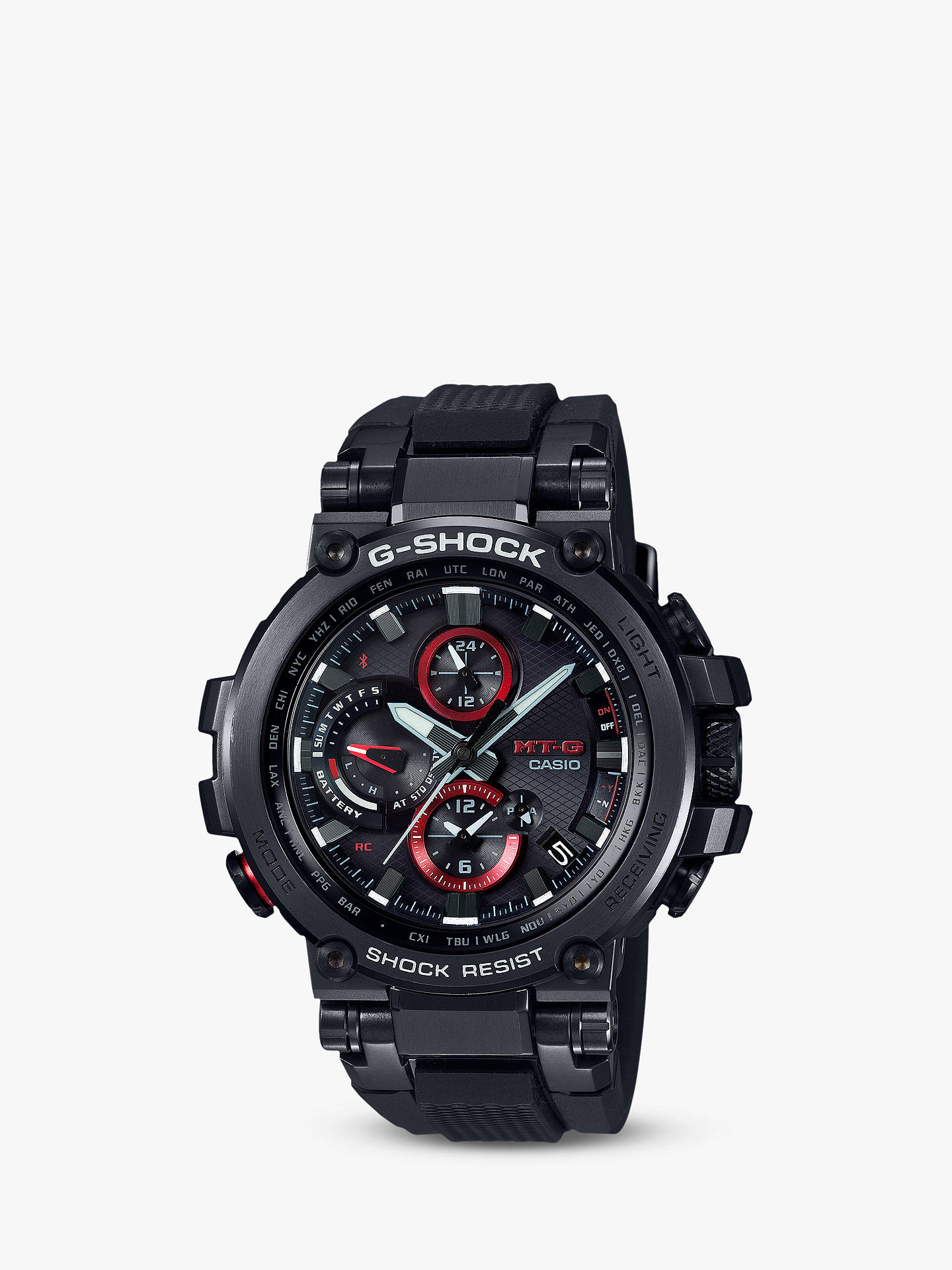 Casio Mtg B1000b 1aer Men S G Shock Connected Chronograph Bracelet
