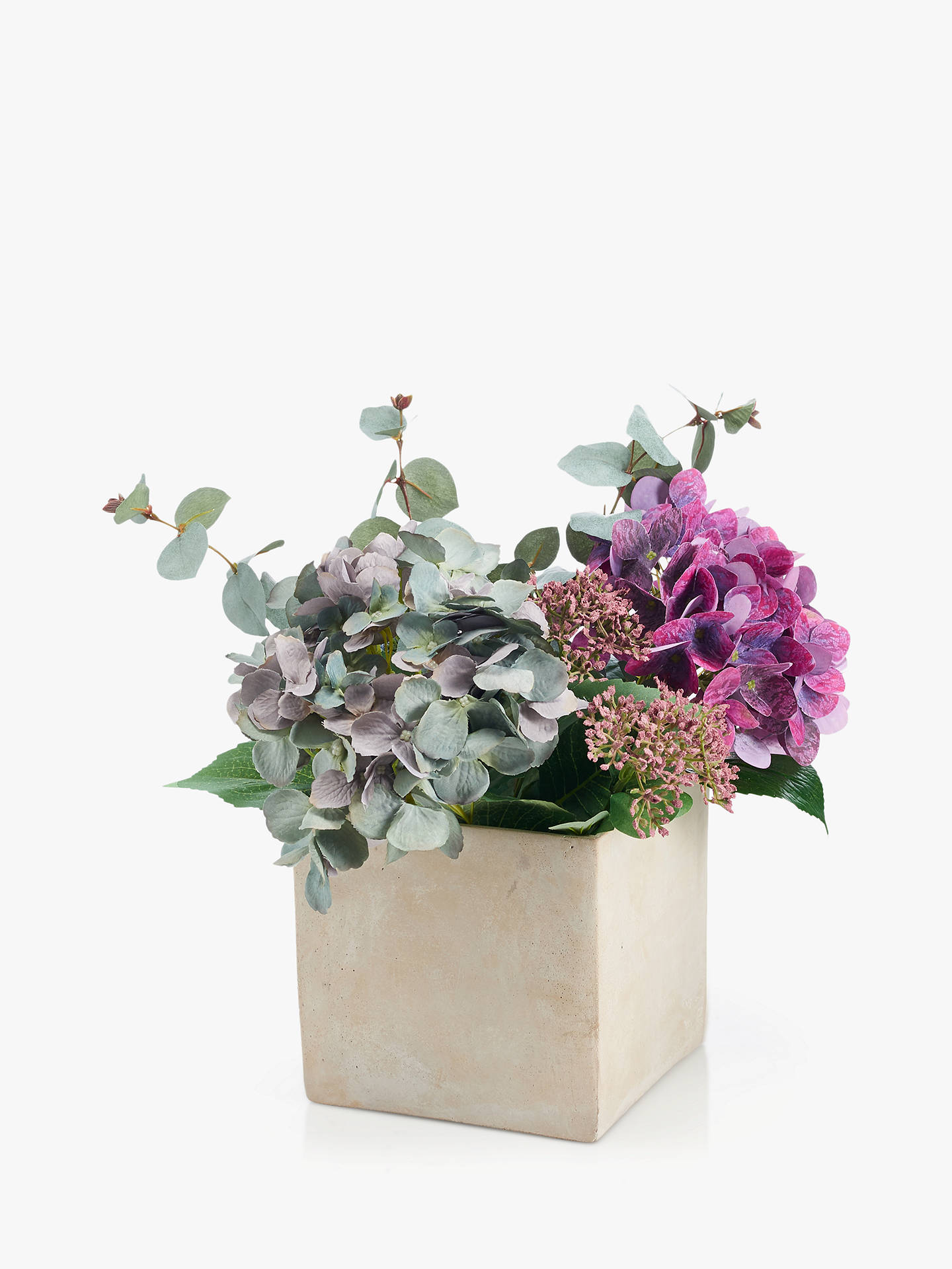 John Lewis : fake flowers in vase - startupinsights.org