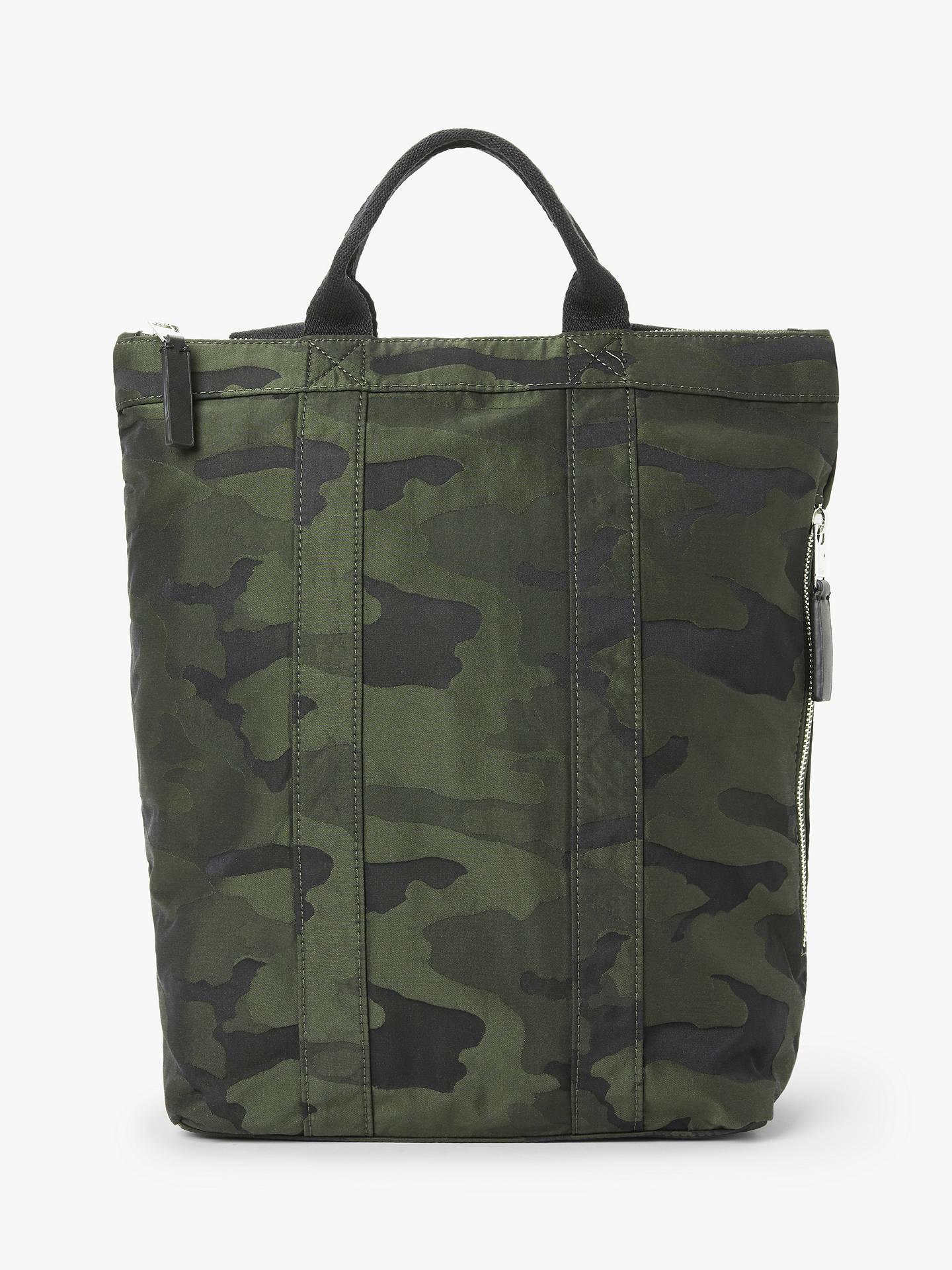 Kin Sette Tote Backpack Camo