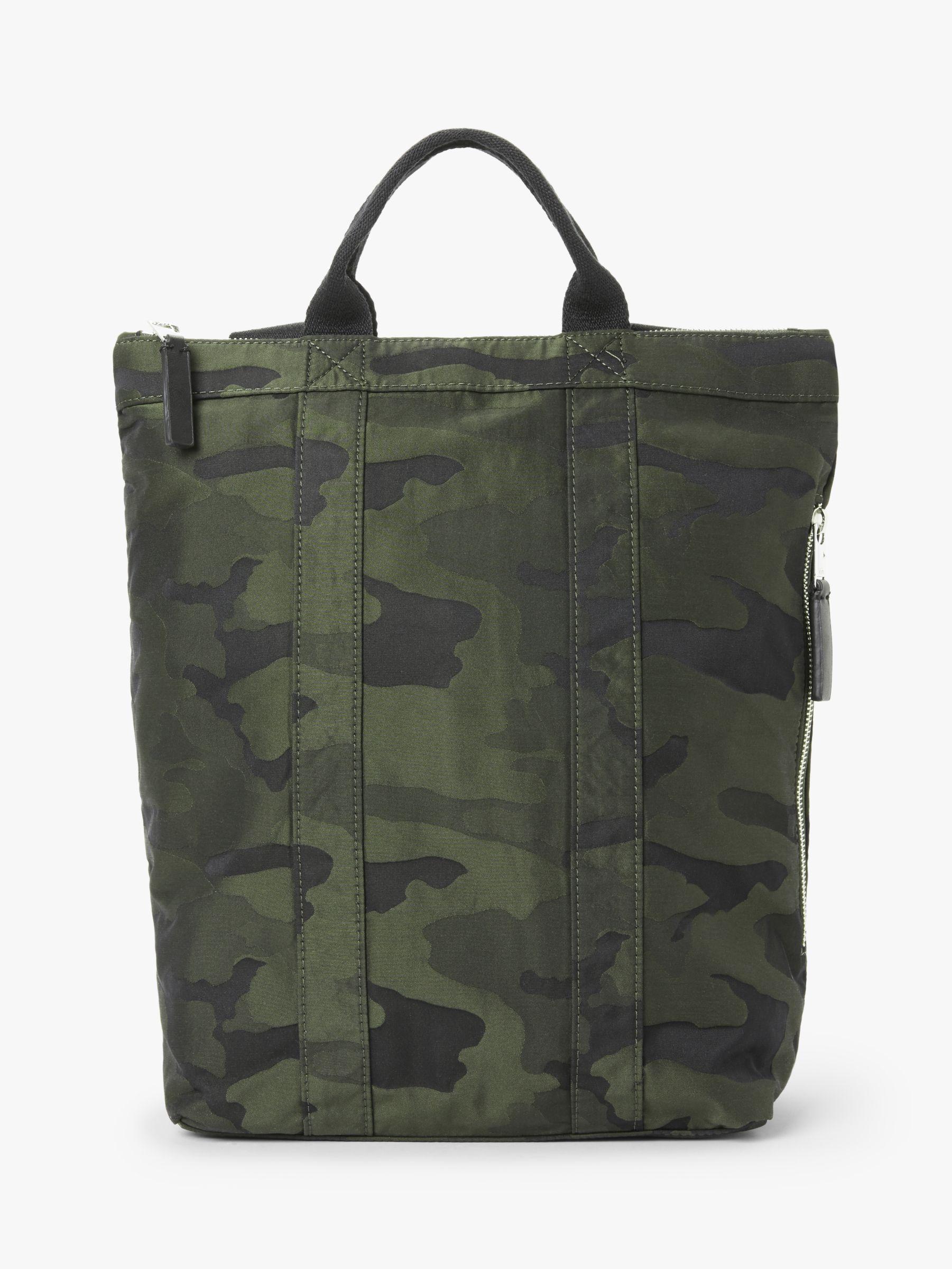 Kin Kin Sette Tote Backpack, Camo