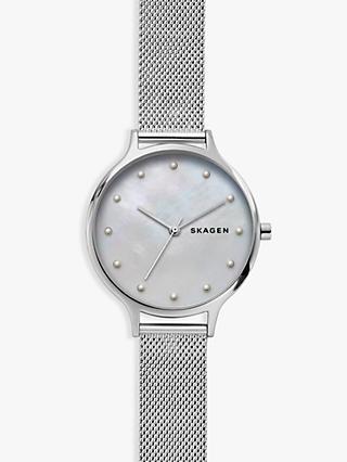 3c6b7aee63c6 Skagen Women s Anita Mesh Bracelet Strap Watch