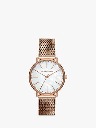 f71c924cb217 Michael Kors Women s Pyper Bracelet Strap Watch