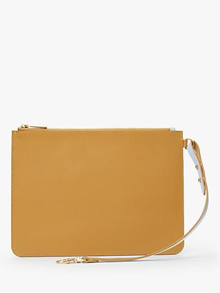 John Lewis & Partners Lane Leather Pouch