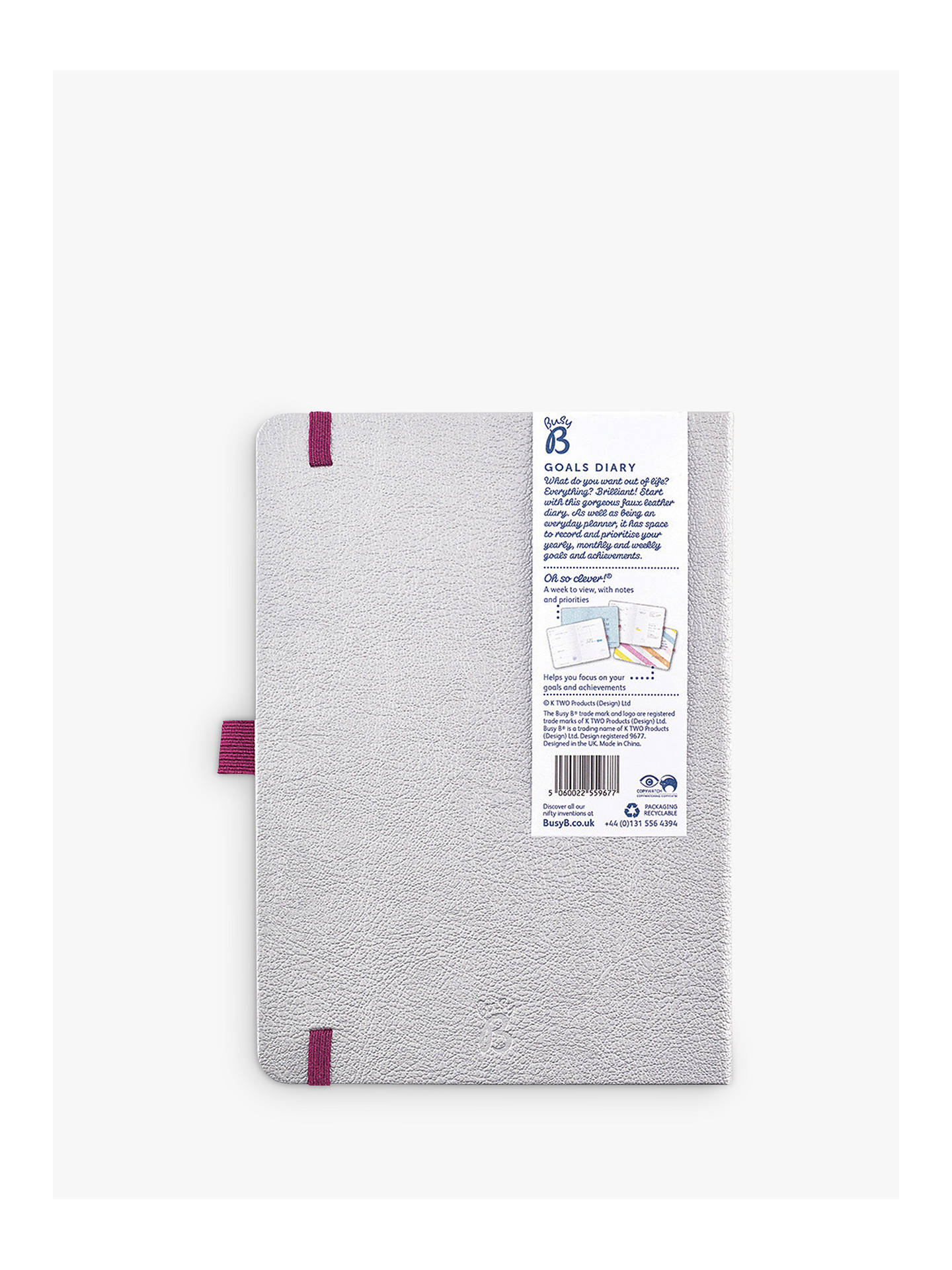 Buy Busy B Best Year Ever Goals Diary 2020 Online at johnlewis.com