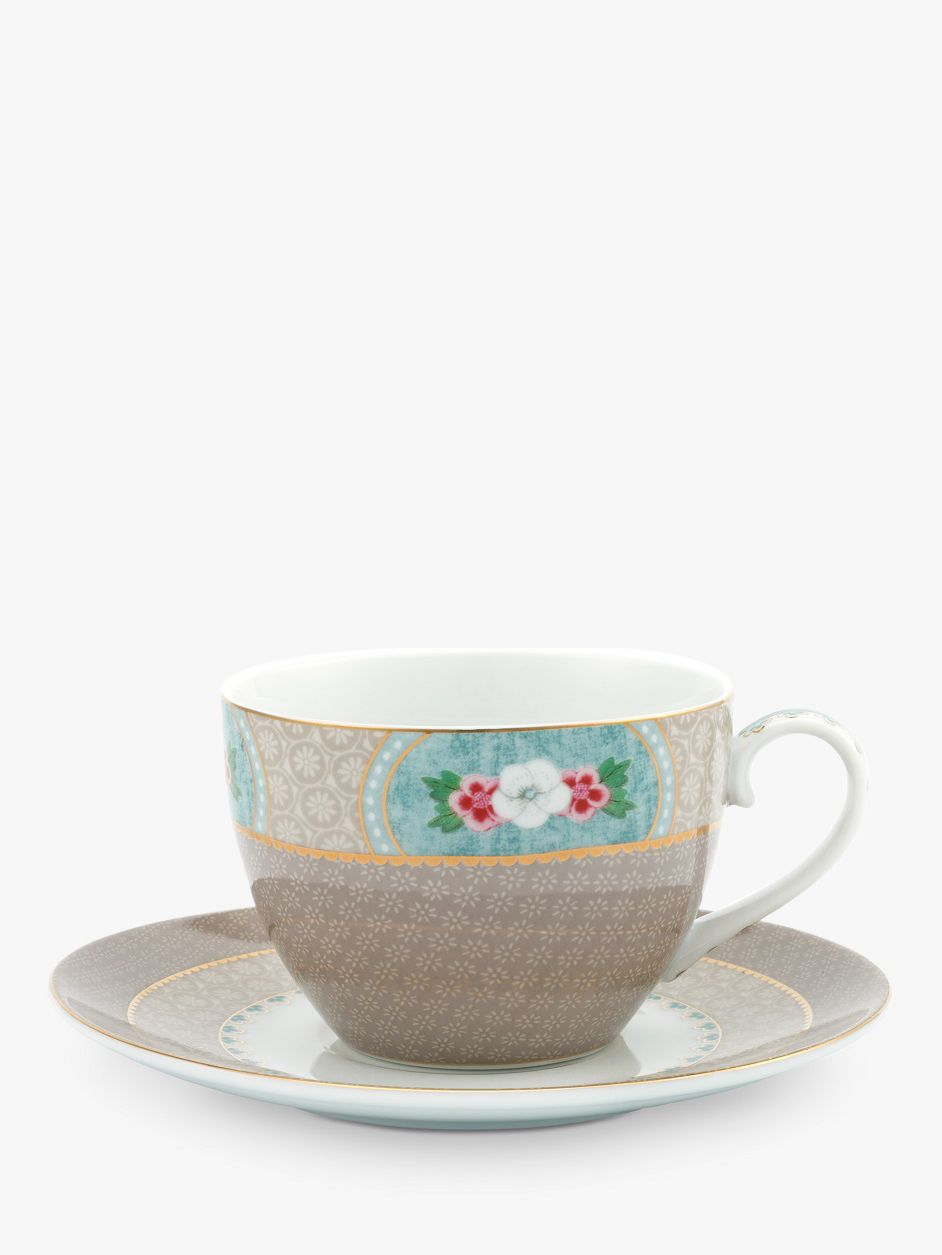 PiP Studio PiP Studio Blushing Birds Cup and Saucer, 280ml