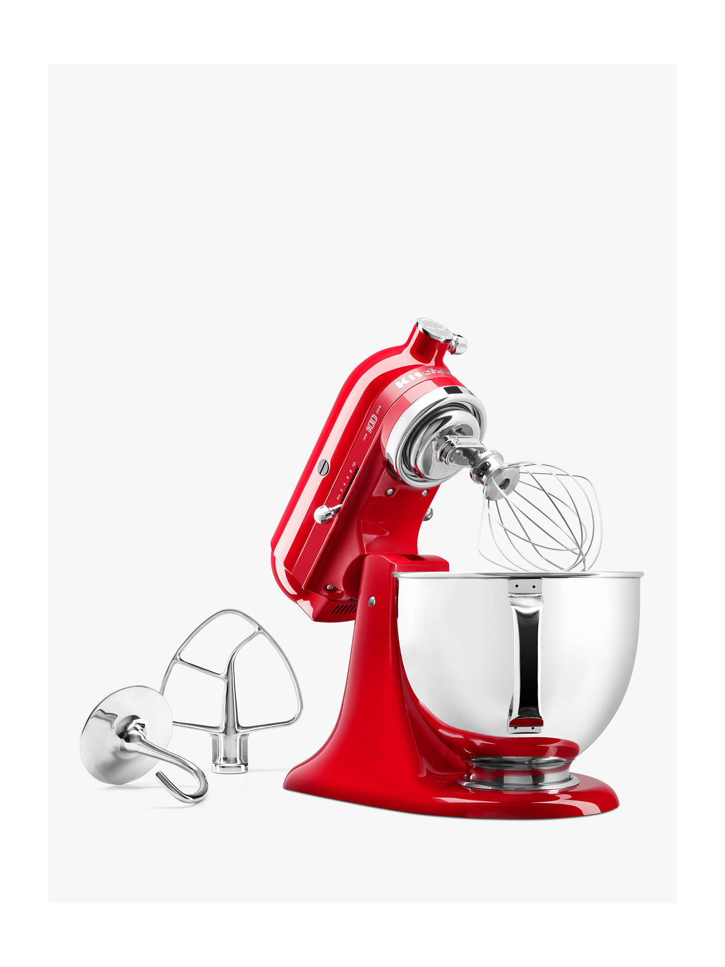 Buy KitchenAid Queen of Hearts 5KSM180HBSD 4.8L Stand Mixer, Red Online at johnlewis.com
