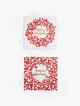 John Lewis & Partners Berries Charity Christmas Cards, Pack of 10