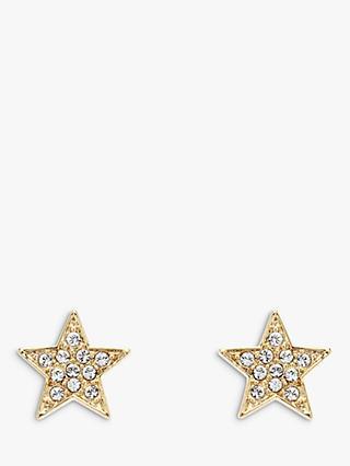 d56ae9528 Melissa Odabash Swarovski Crystal Star Stud Earrings, Gold