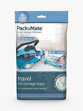 Packmate Travel Roll Storage Bags, Pack of 8