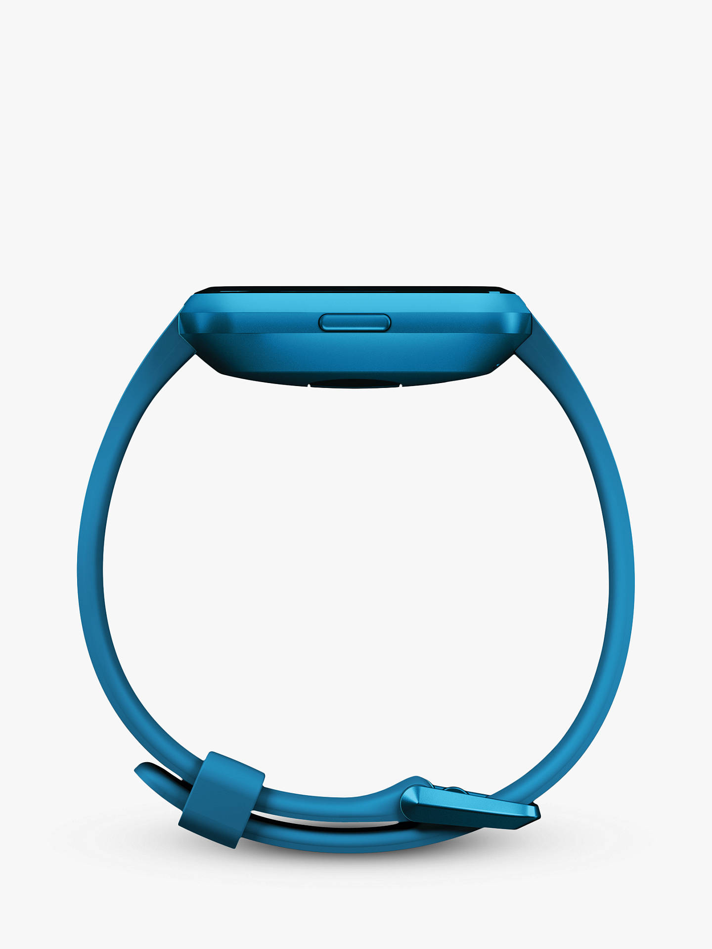 Buy Fitbit Versa Lite Smart Fitness Watch with Heart Rate Monitor, Marina Blue Online at johnlewis.com