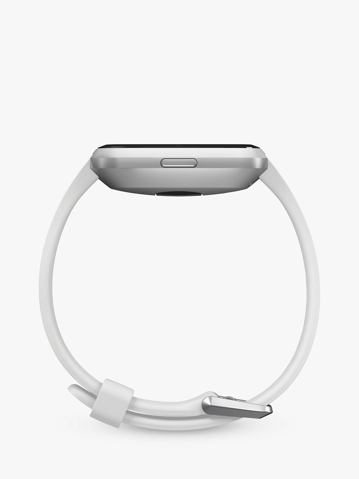 Buy Fitbit Versa Lite Smart Fitness Watch with Heart Rate Monitor, White Online at johnlewis.com