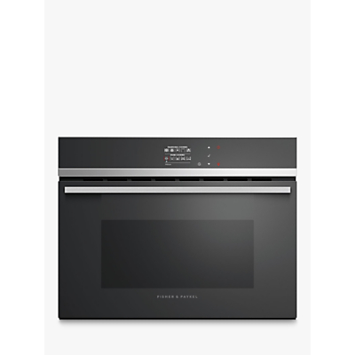 Image of Fisher & Paykel OS60NDB1 Built-in Single Steam Oven, A +Energy Rating, Black Gloss
