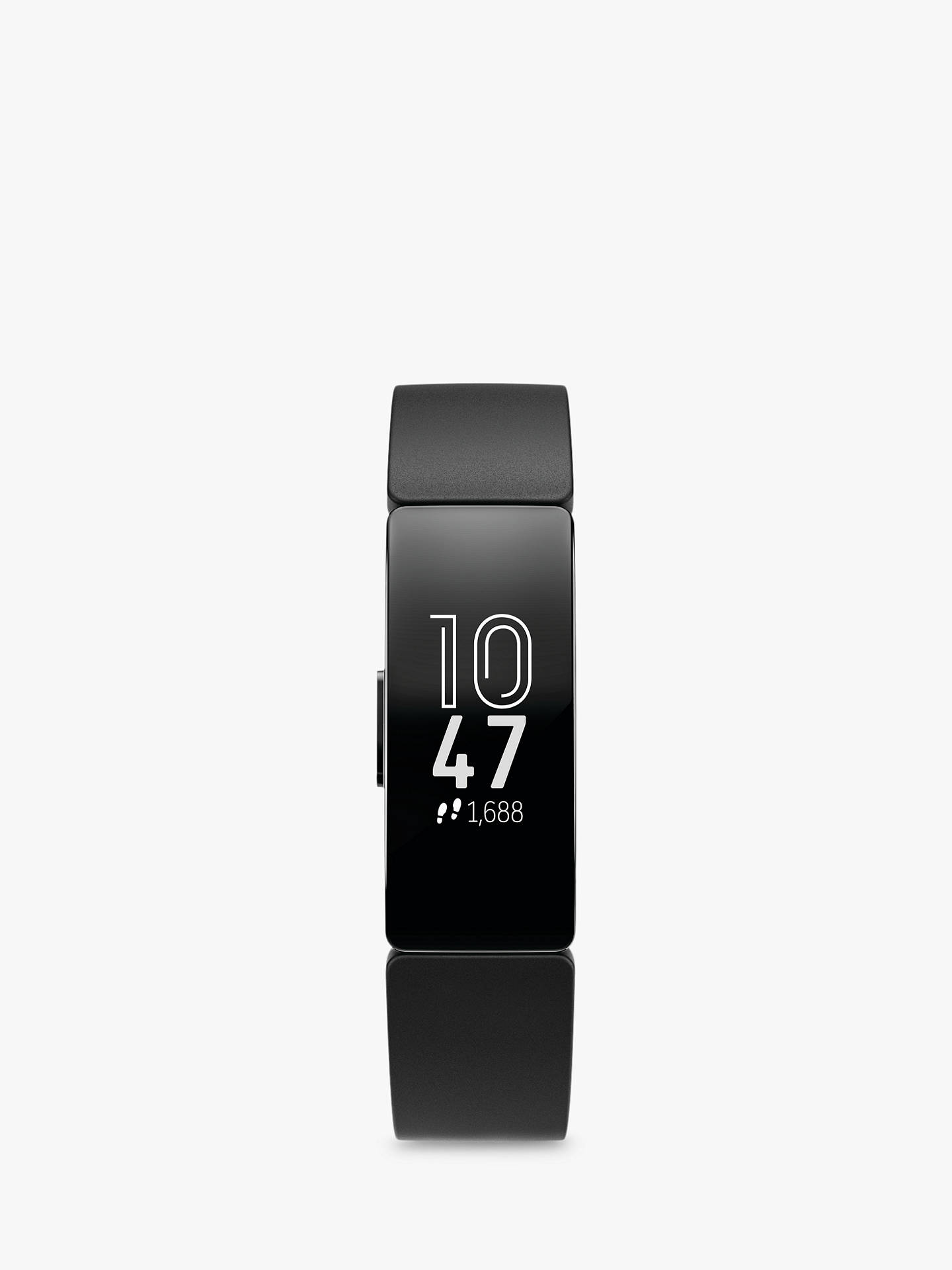 Buy Fitbit Inspire Health and Fitness Tracker, Black Online at johnlewis.com