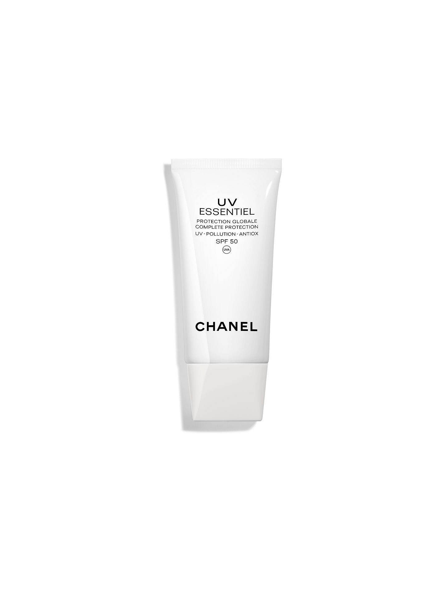Buy CHANEL UV Essentiel Complete Protection UV - Pollution - Antiox SPF 50 Online at johnlewis.com