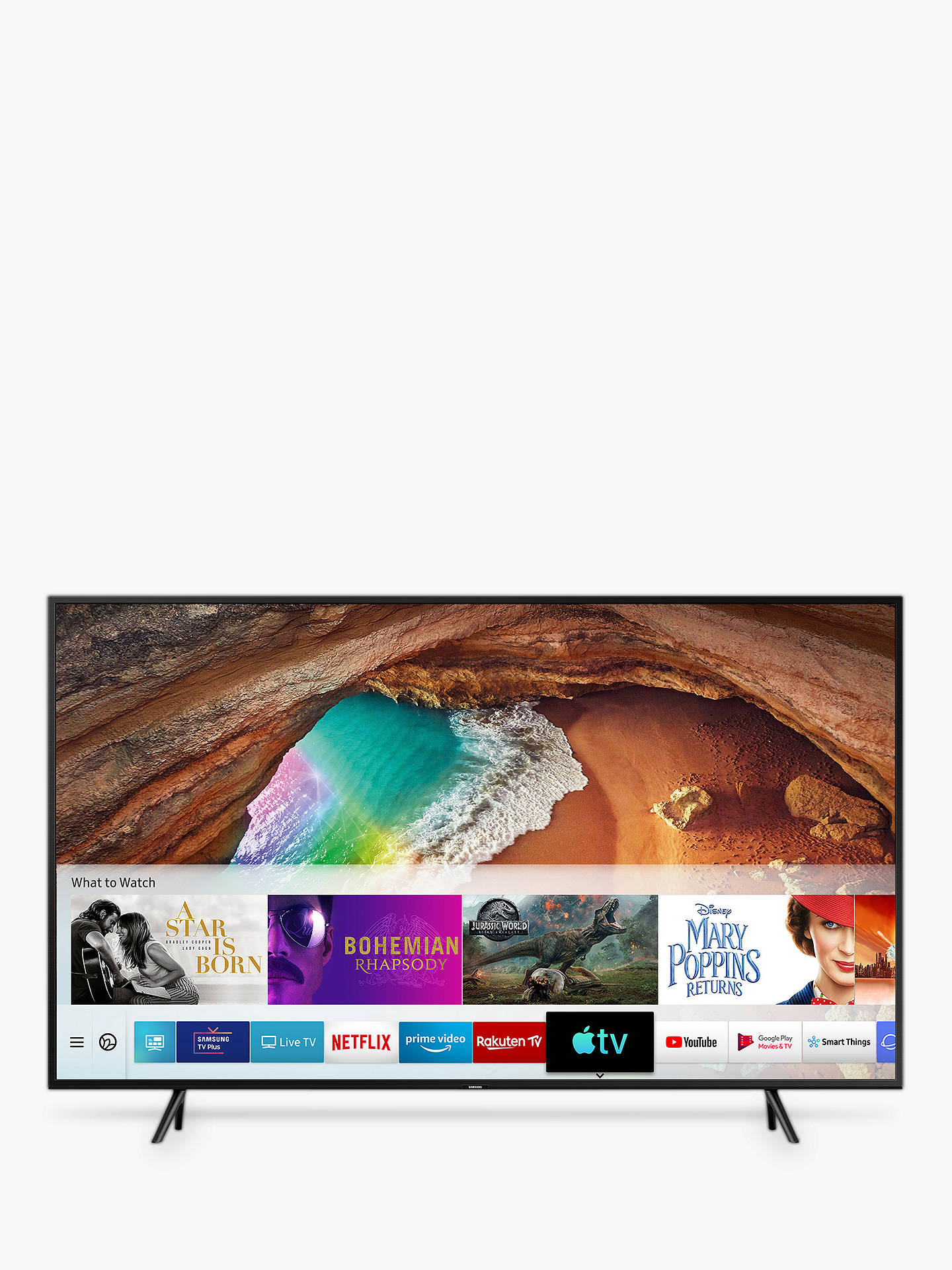 Samsung QE82Q60R (2019) QLED HDR 4K Ultra HD Smart TV, 82