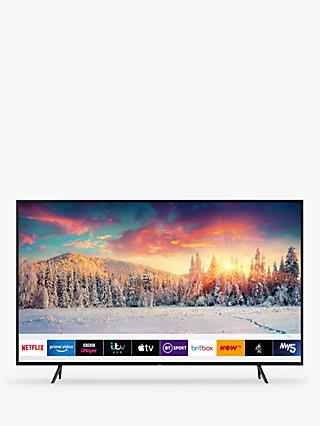 "Samsung QE65Q60R (2019) QLED HDR 4K Ultra HD Smart TV, 65"" with TVPlus/Freesat HD & Apple TV App, Charcoal Black"