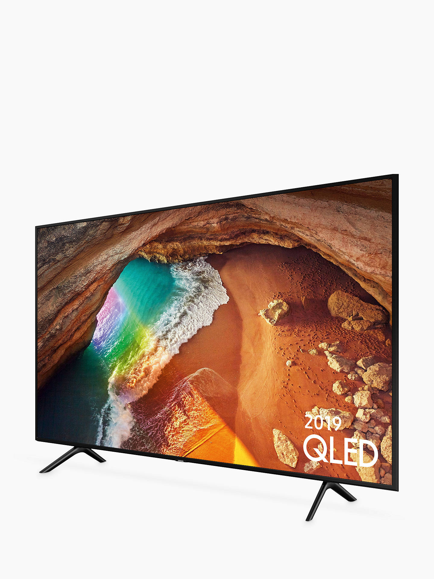 Samsung QE49Q60R (2019) QLED HDR 4K Ultra HD Smart TV, 49