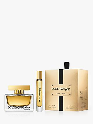 a5805537f6d76 Dolce   Gabbana The One Eau de Parfum 75ml Fragrance Gift Set