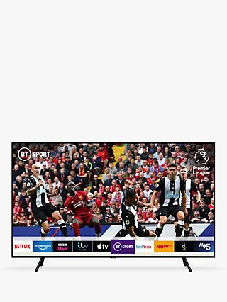 "Samsung QE55Q70R (2019) QLED HDR 1000 4K Ultra HD Smart TV, 55"" with TVPlus/Freesat HD & Apple TV App, Slate Black"
