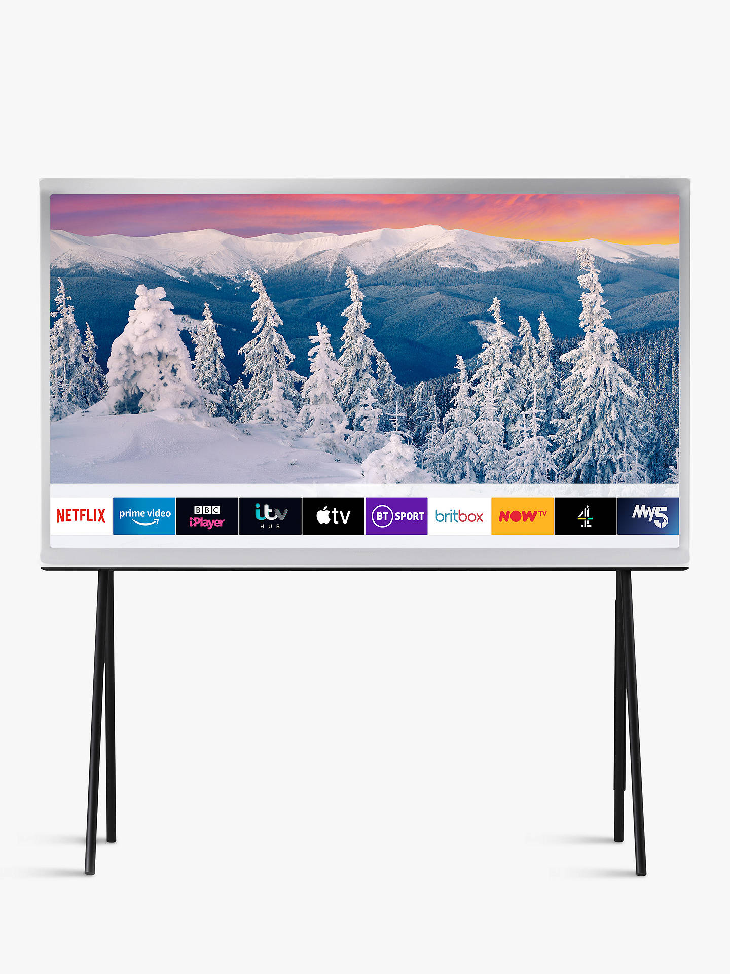 Samsung The Serif (2019) QLED HDR 4K Ultra HD Smart TV, 55