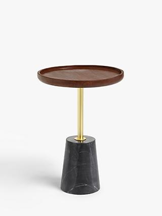 Design Project by John Lewis No.318 Marble Side Table, Black