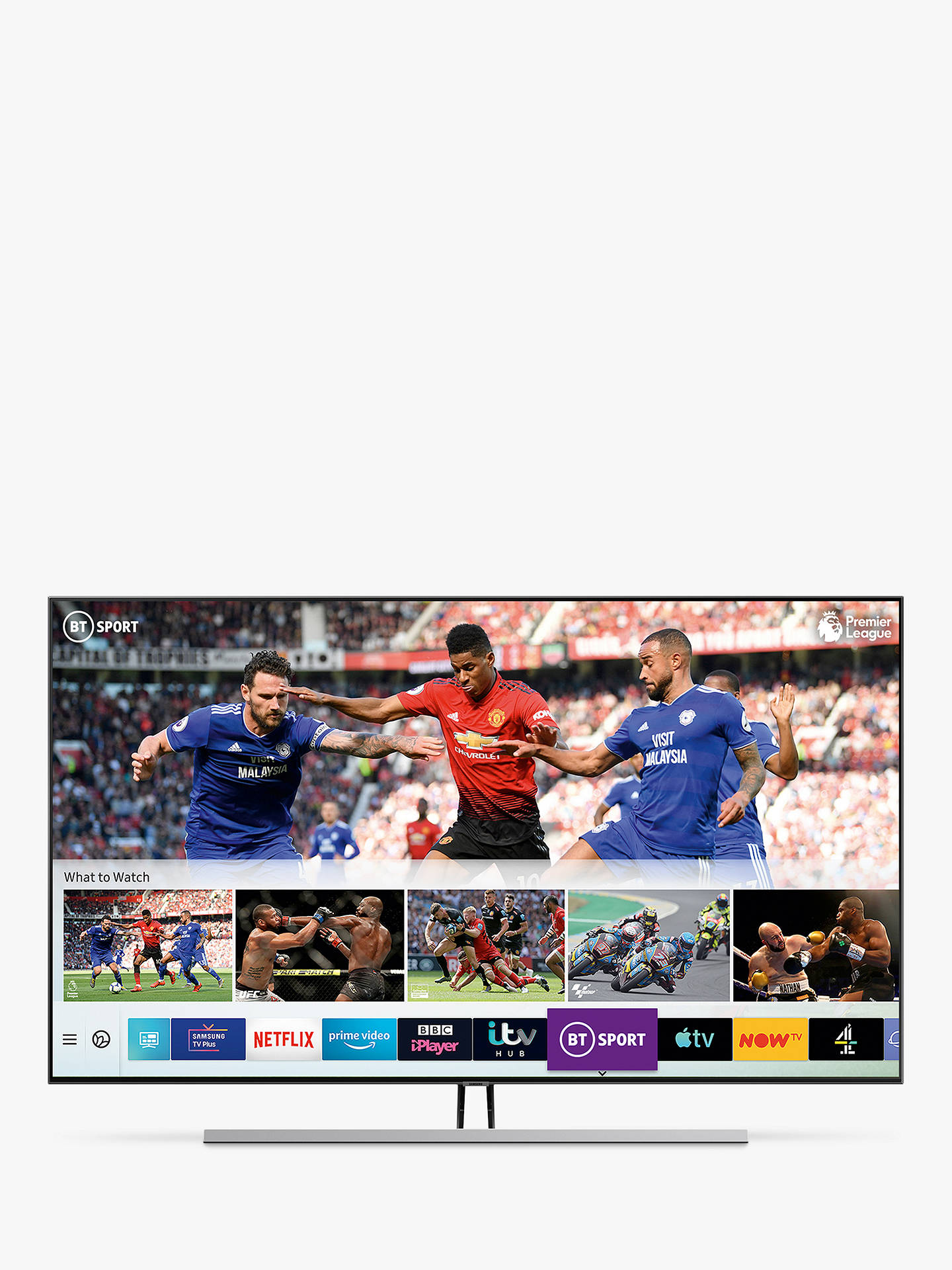 Samsung QE55Q85R (2019) QLED HDR 1500 4K Ultra HD Smart TV, 55