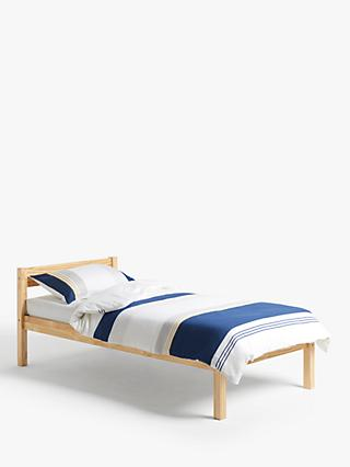 House by John Lewis Brindille Child Compliant Bed Frame, Single, Natural