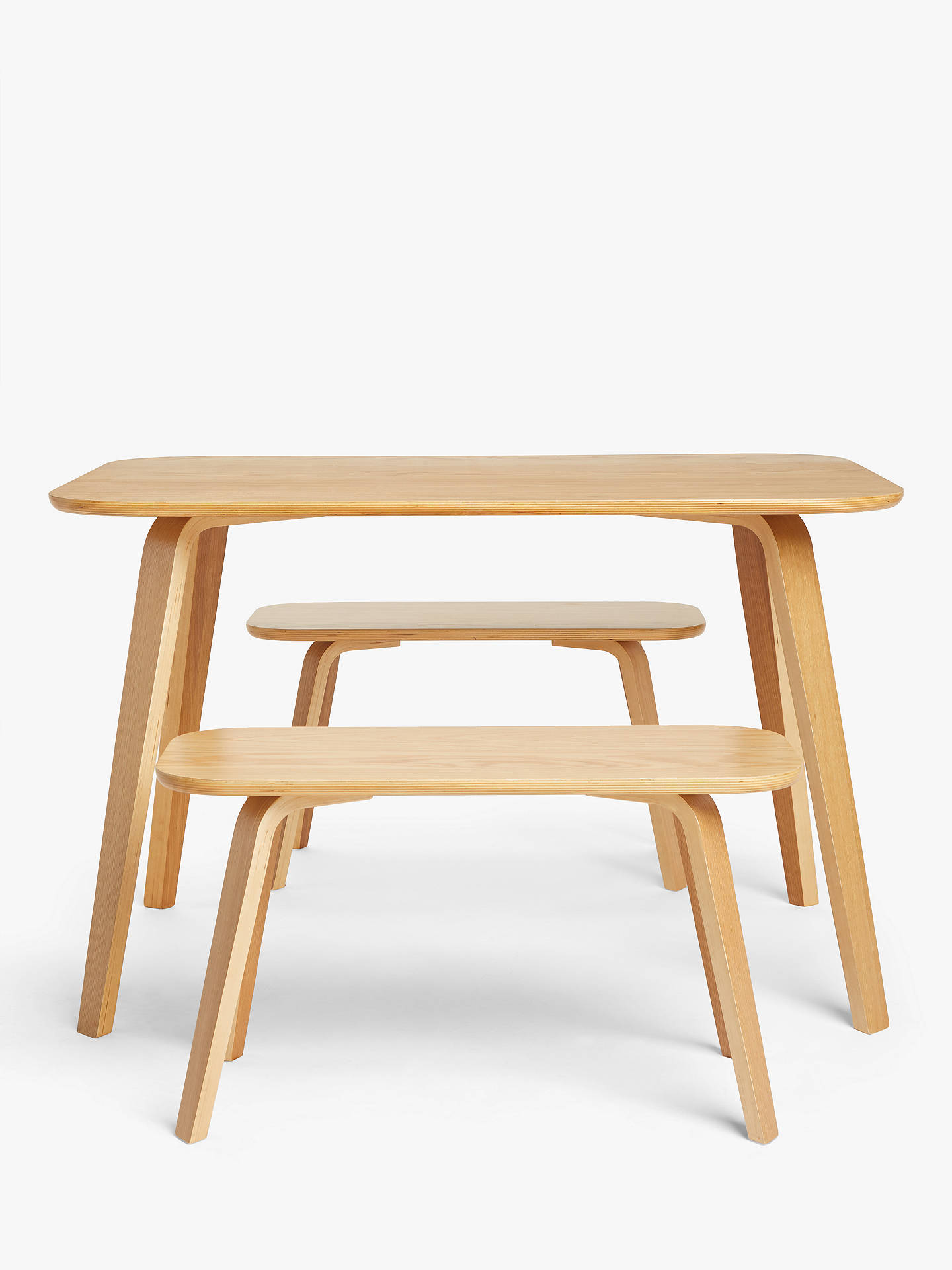 Sensational House By John Lewis Anton 6 Seater Dining Table And 2 Seater Benches Oak Gmtry Best Dining Table And Chair Ideas Images Gmtryco