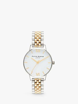 Olivia Burton Women's Five Link Bracelet Strap Watch