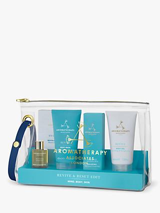 Aromatherapy Associates Bath & Body Revive & Reset Edit Gift Set