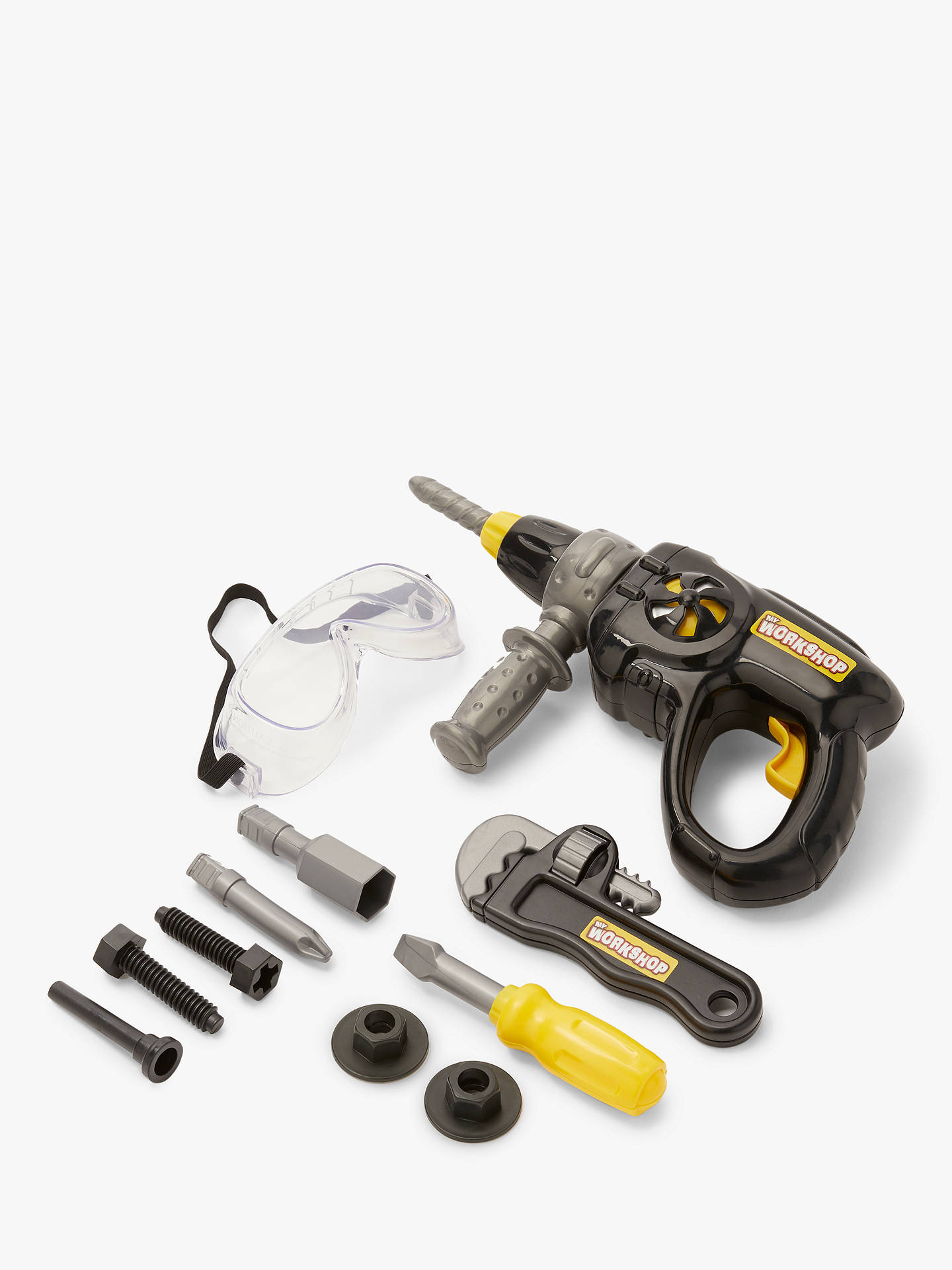 Buy John Lewis & Partners Toy Drill Tool Set Online at johnlewis.com