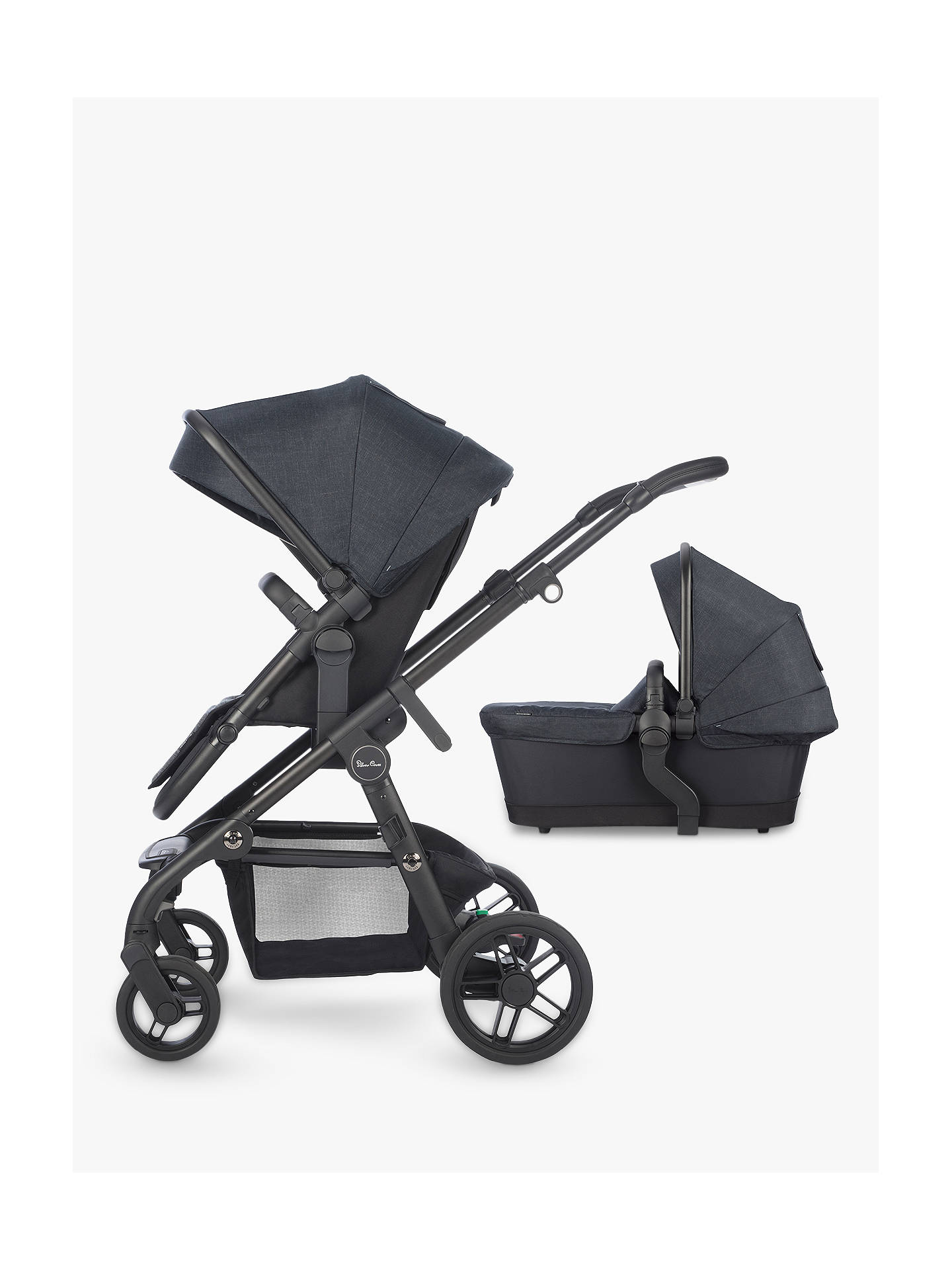 478c1f3fc Buy Silver Cross Coast Pushchair and Carrycot