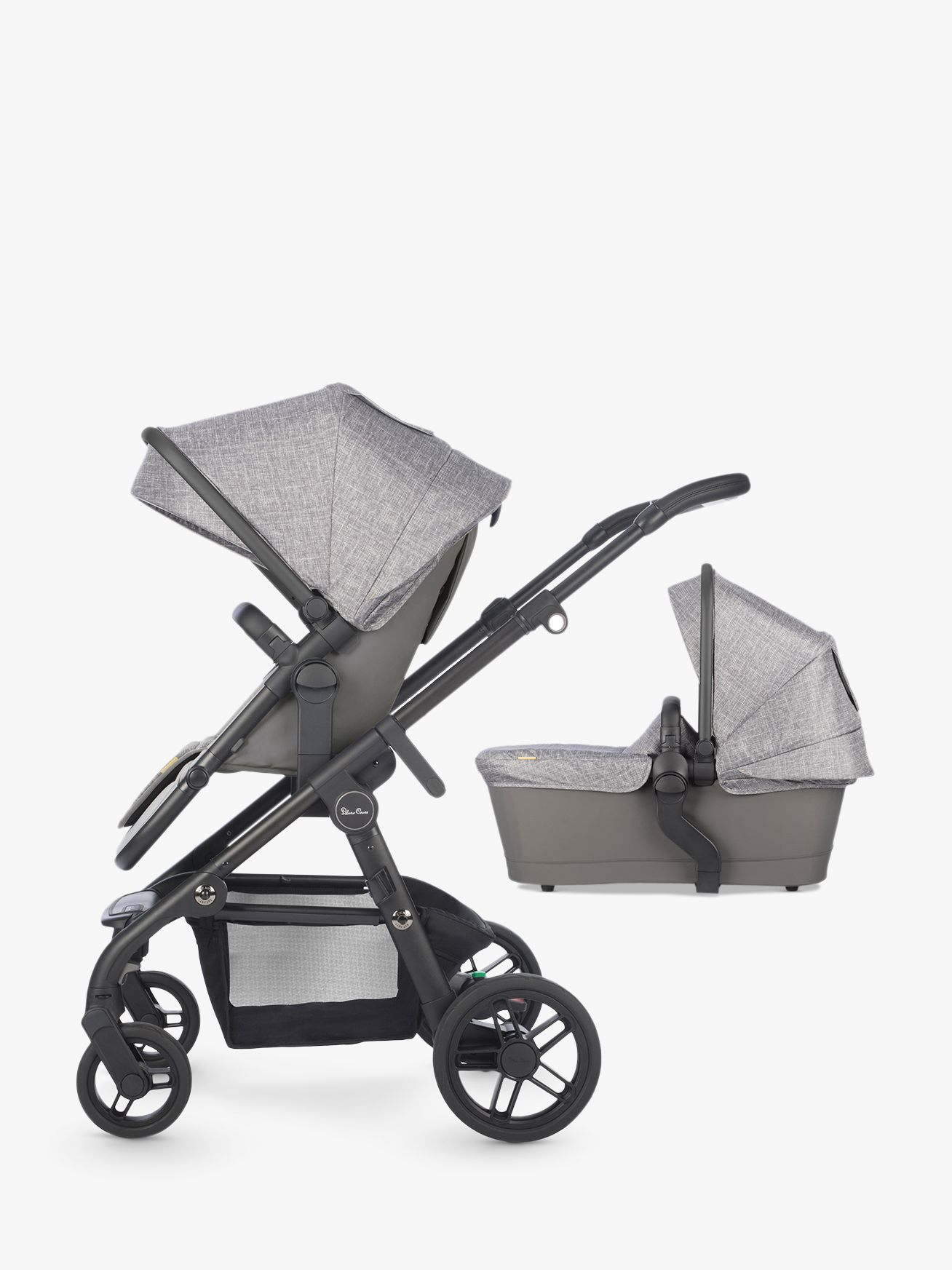 Silver Cross Silver Cross Coast Pushchair and Carrycot, Limestone