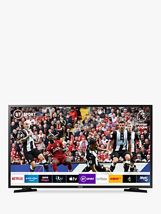 "Samsung UE32N5300 (2019) LED Full HD 1080p Smart TV, 32"" with TVPlus & Apple TV App, Black"