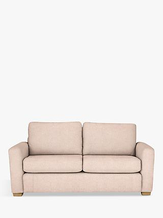 House by John Lewis Oliver Medium 2 Seater Modular Sofa, Light Leg