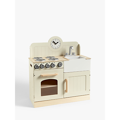 John Lewis & Partners Wooden Country Kitchen