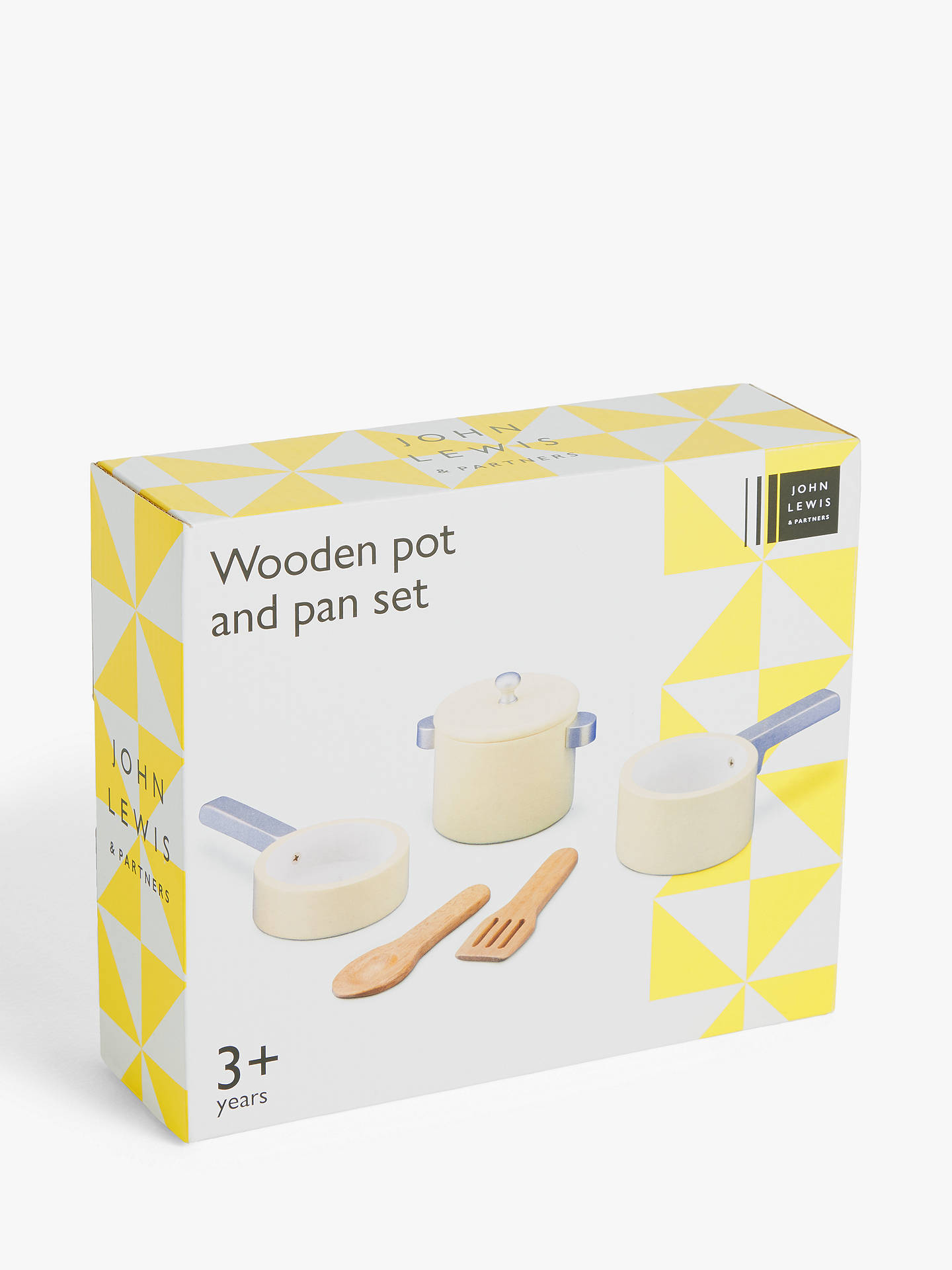 Buy John Lewis & Partners Wooden Pots and Pans Online at johnlewis.com