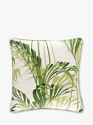 Sanderson Palmhouse Cushion, Botanical Green