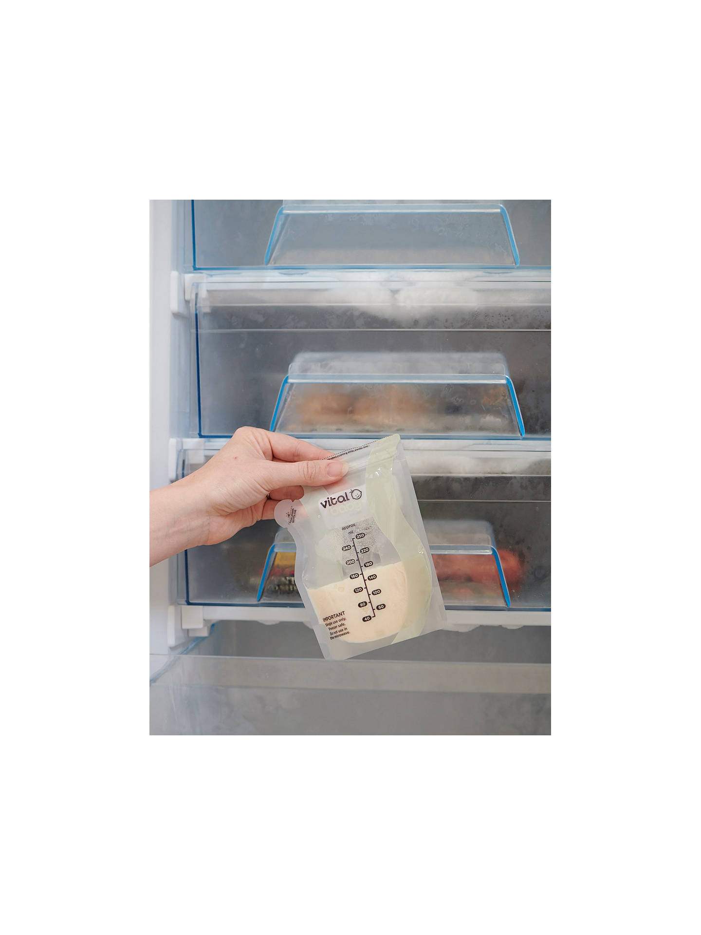 Buy Vital Baby Breast Milk Storage Bags, Pack of 30 Online at johnlewis.com