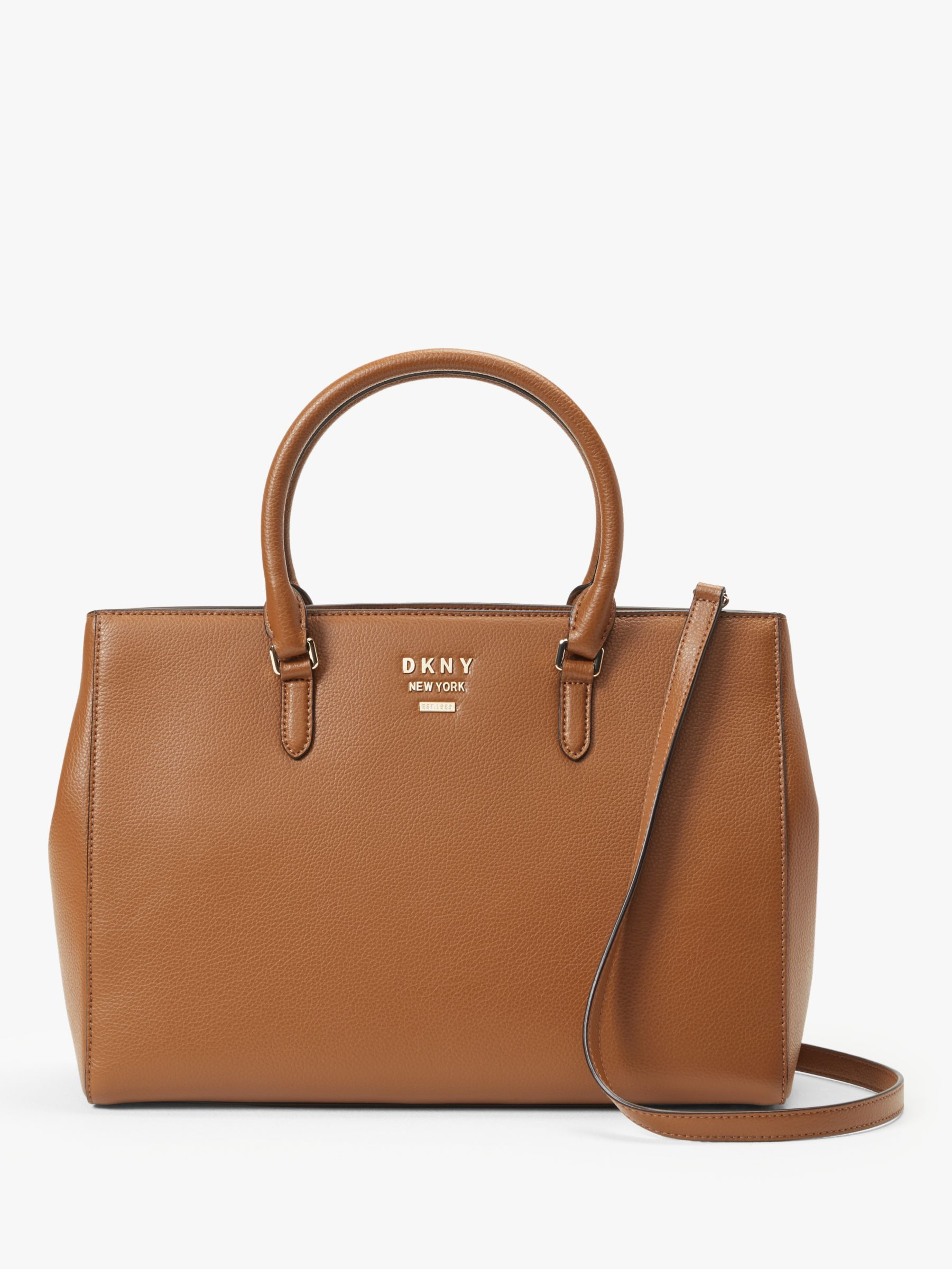 8df11ef1e96 DKNY Whitney Leather Work Tote Bag, Driftwood