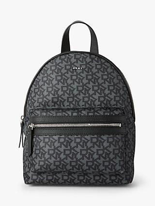 6aded592b7b DKNY Casey Nylon Logo Backpack, Black